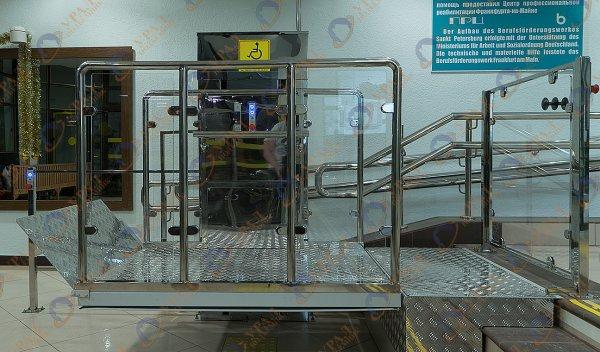 ВПМ-02 Вертикальный подъемник для инвалидов по ГОСТ